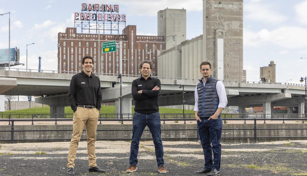 Poka Co-Founders & CFO courtesy of EvaBlue